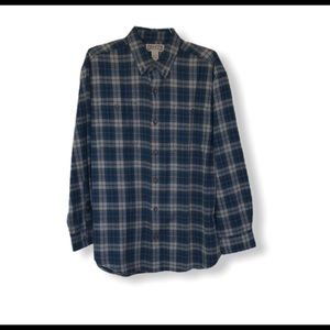 Duluth Trading Co. Plaid Flannel Shirt